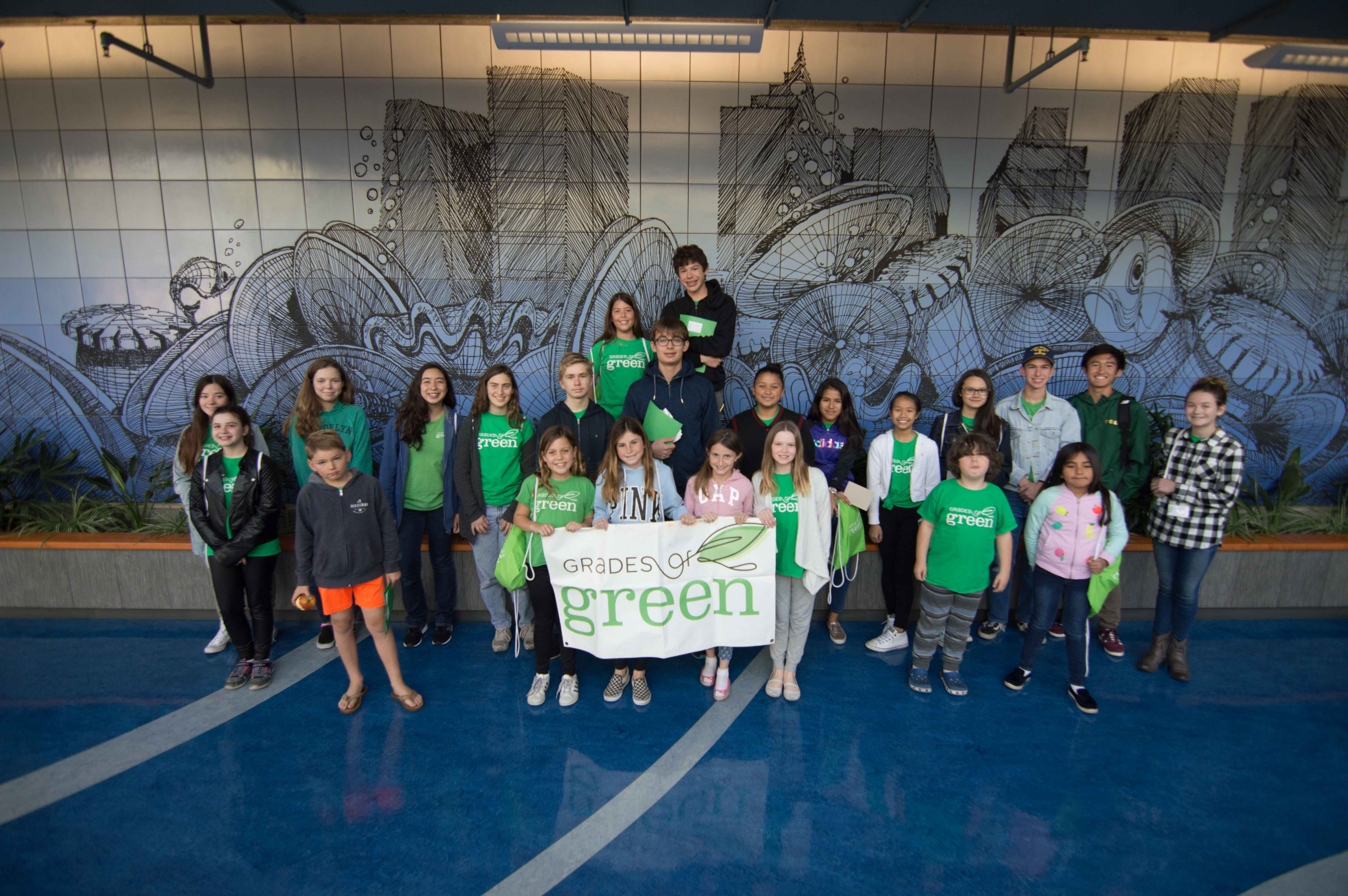 Youth Corps Eco-Leaders Explore the Environmental Learning Center