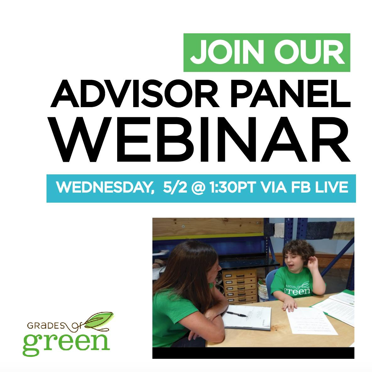 Join Our Webinar Finale on May 2nd on Facebook Live!