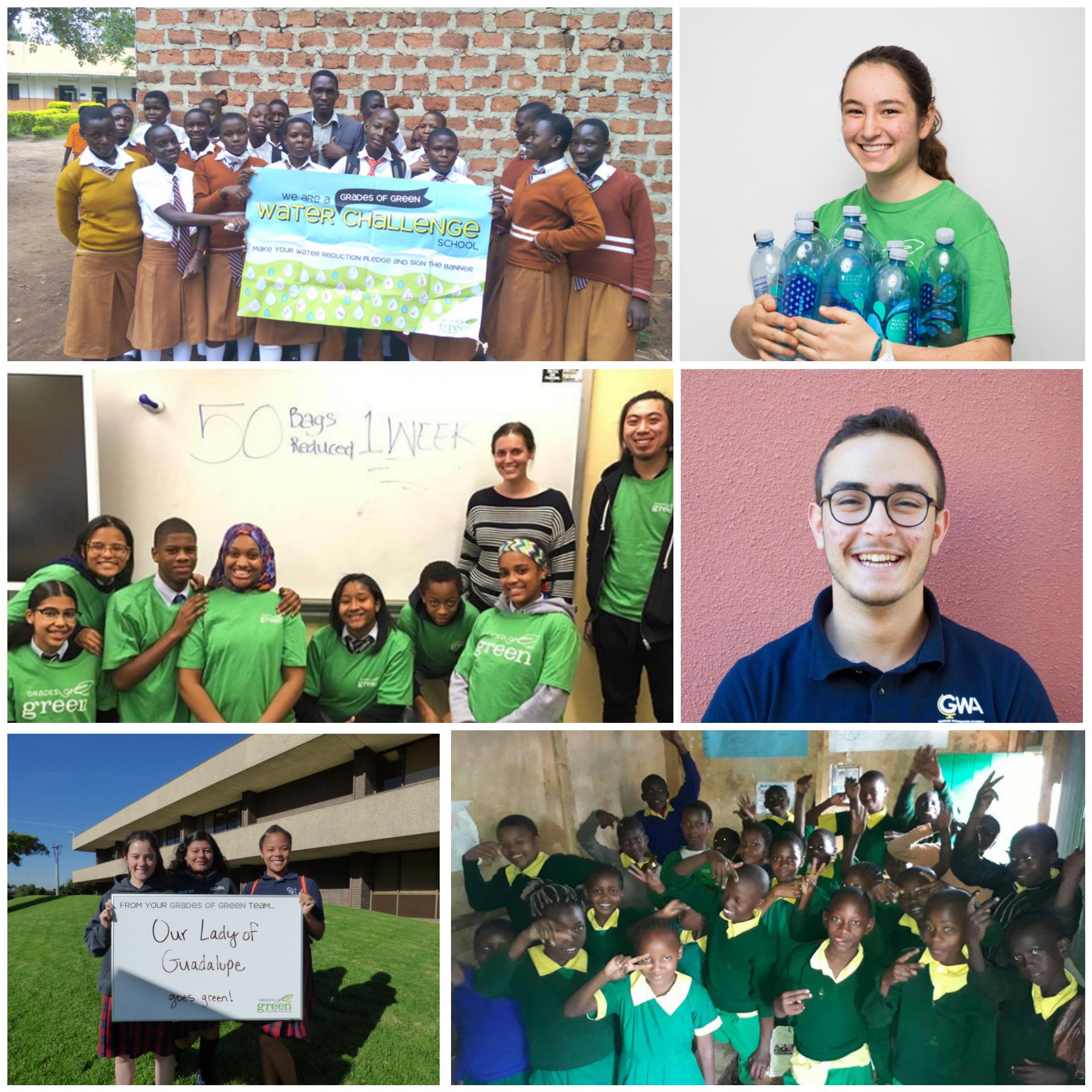 Youth Environmental Leadership Award Nominees Honored at VERTE 2018