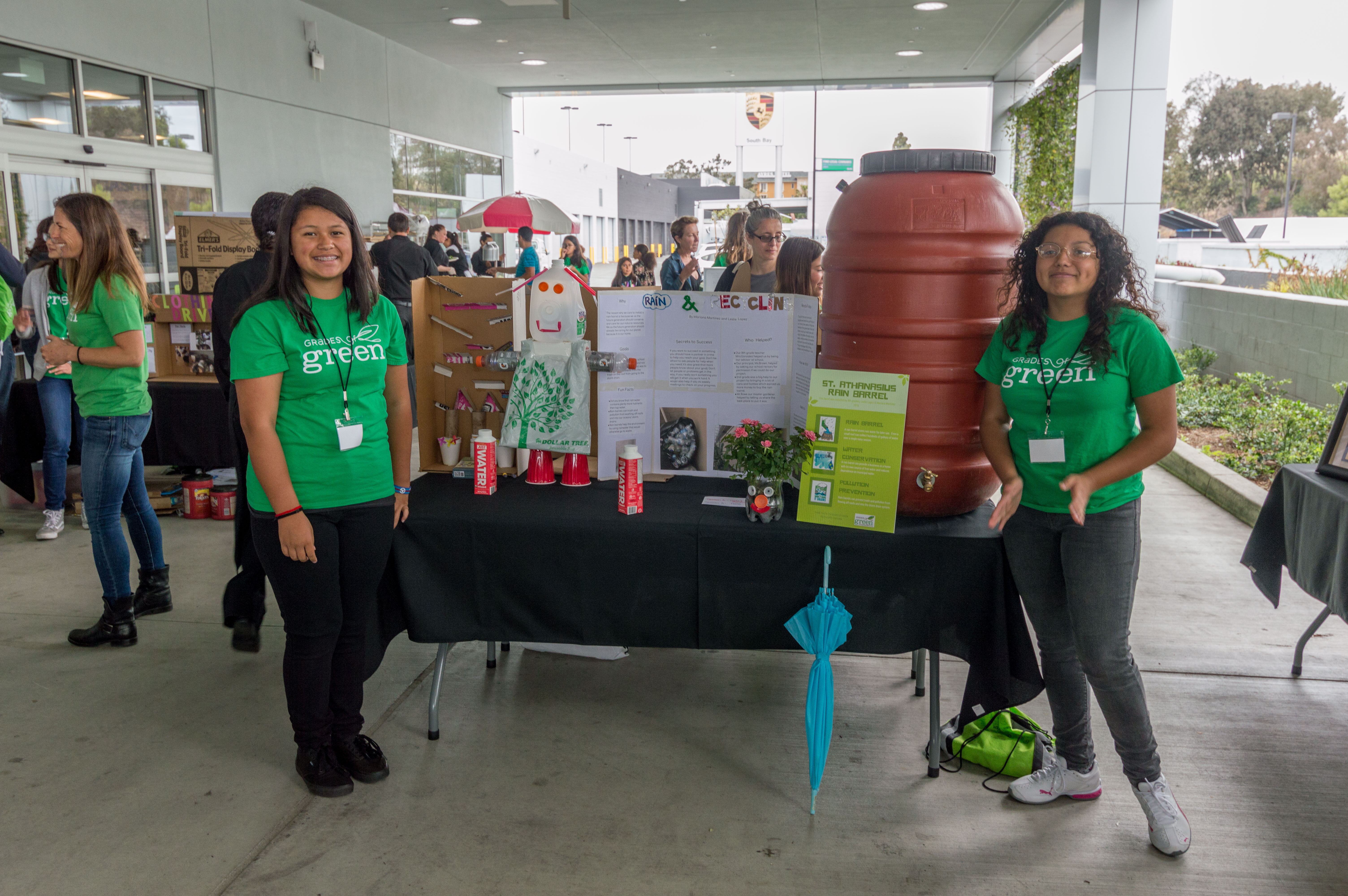 Grades of Green Students Tackle Water and Waste