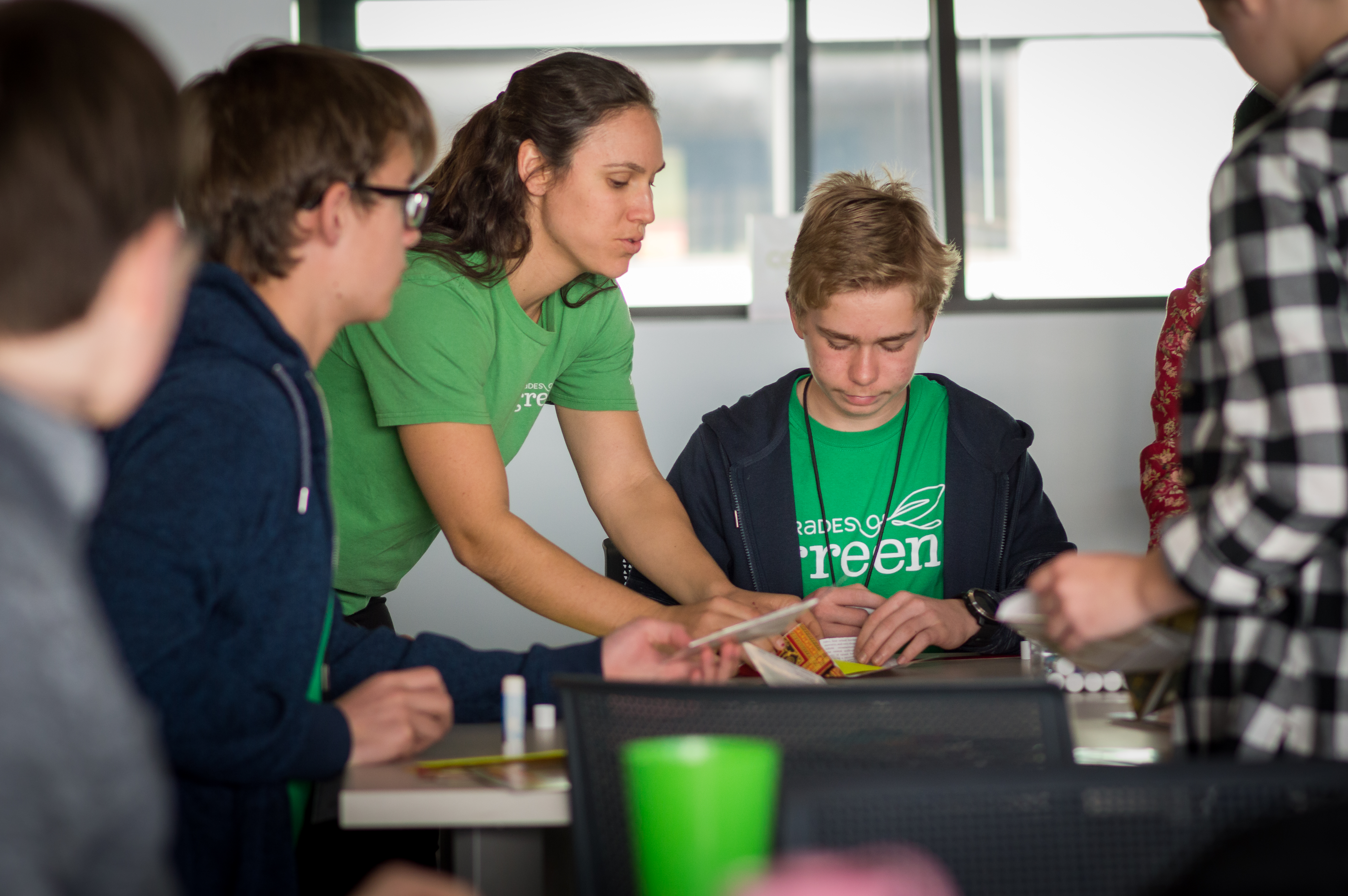 Apply to be a Grades of Green's Spring 2019 College Mentor
