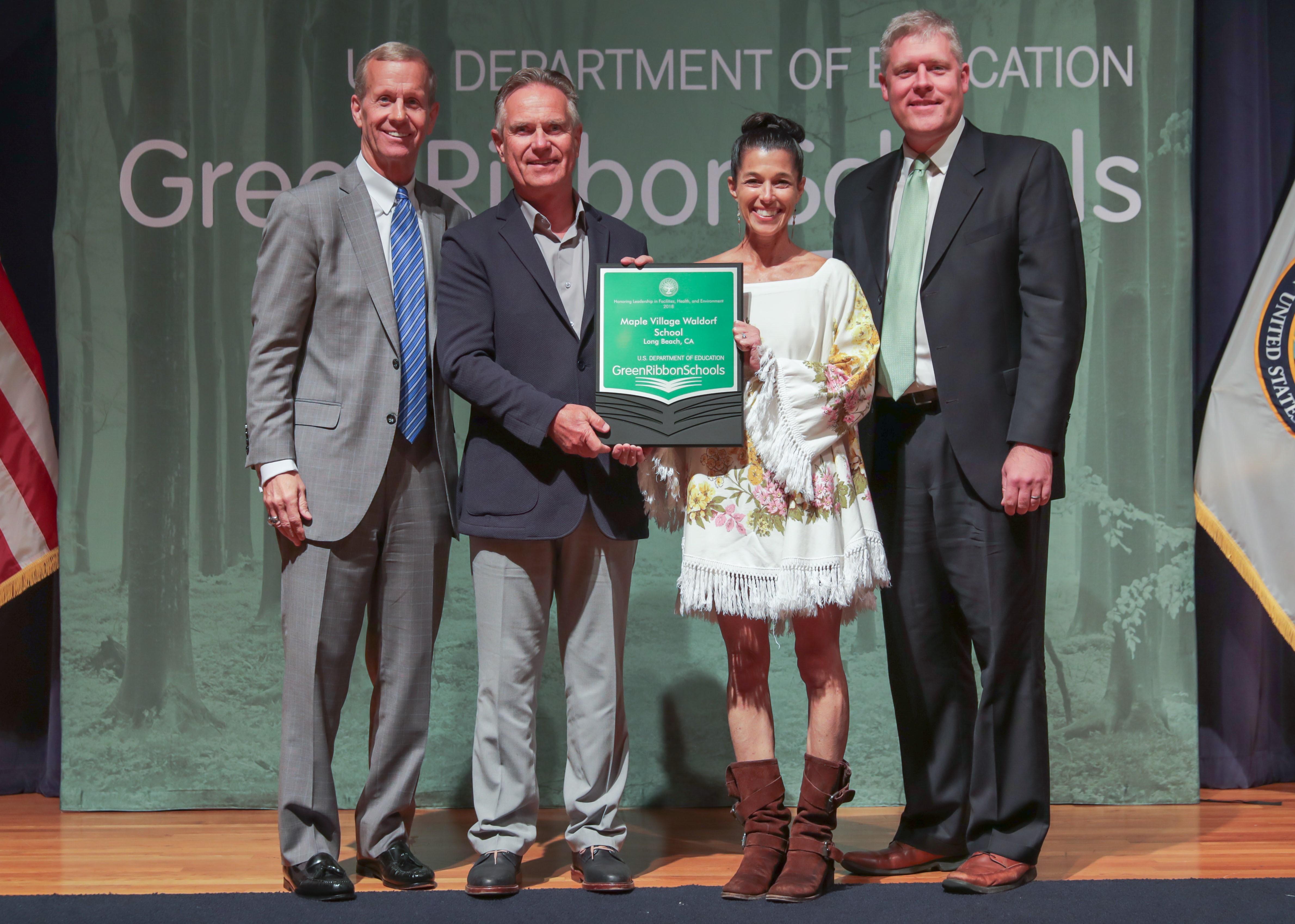 Maple Village Waldorf School Honored Among 2018 Green Ribbon Schools
