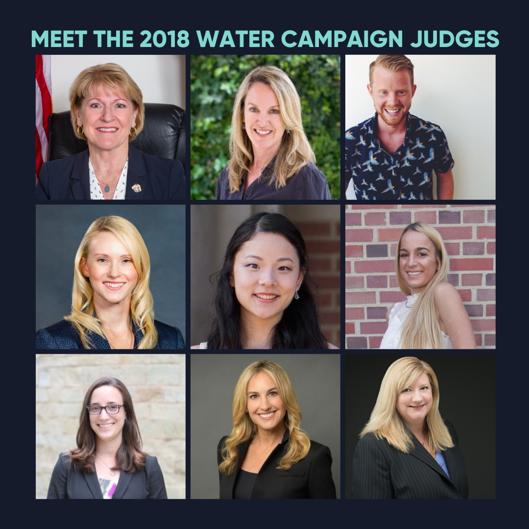 Meet the 2018 Water Campaign Judges