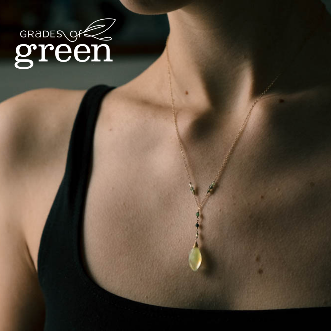 Grades of Green Commemorate #ToasttoTen with Oxen Jewelry
