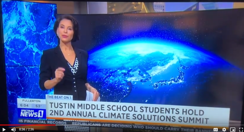 Columbus Tustin Middle School Presents: Climate Solutions Summit