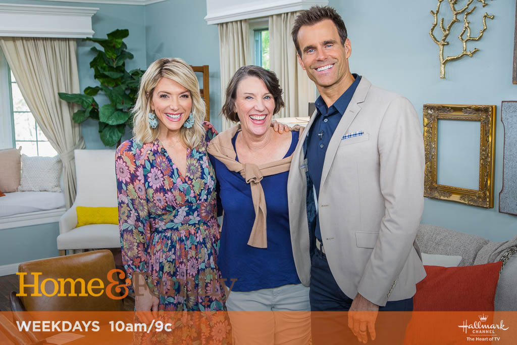 Home and Family hosts with Kim