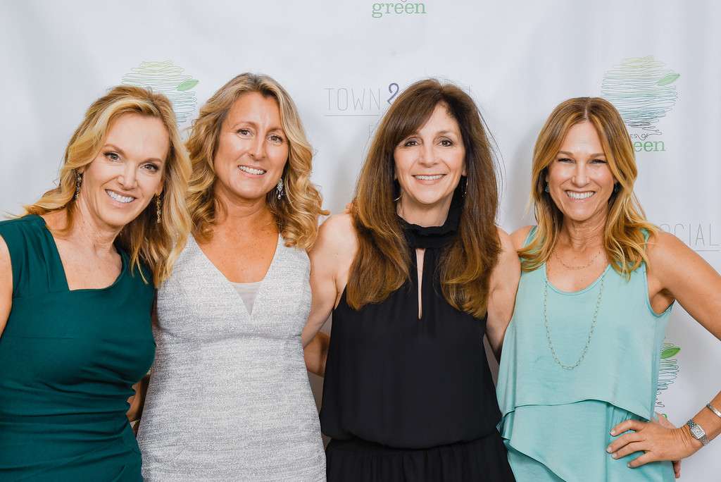 Grades of Greens founders, from left: Shaya Kirkpatrick, Lisa Coppedge, Suzanne Kretschmer, and Kim Martin.